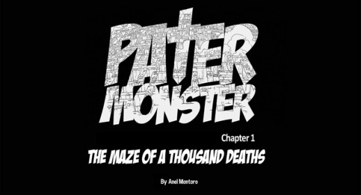 "Pater Monster 1, ""The maze of a thousand deaths"""