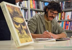 Sesión de firmas de Francis Porcel en librería Picasso de Granada