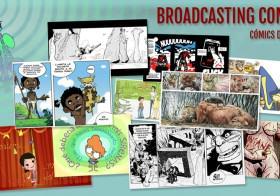 Presentación de Broadcastingcomics en el Salón del cómic de Granada