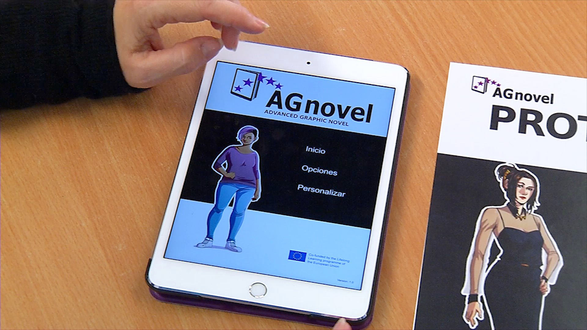 Cómics interactivos para aprender idiomas