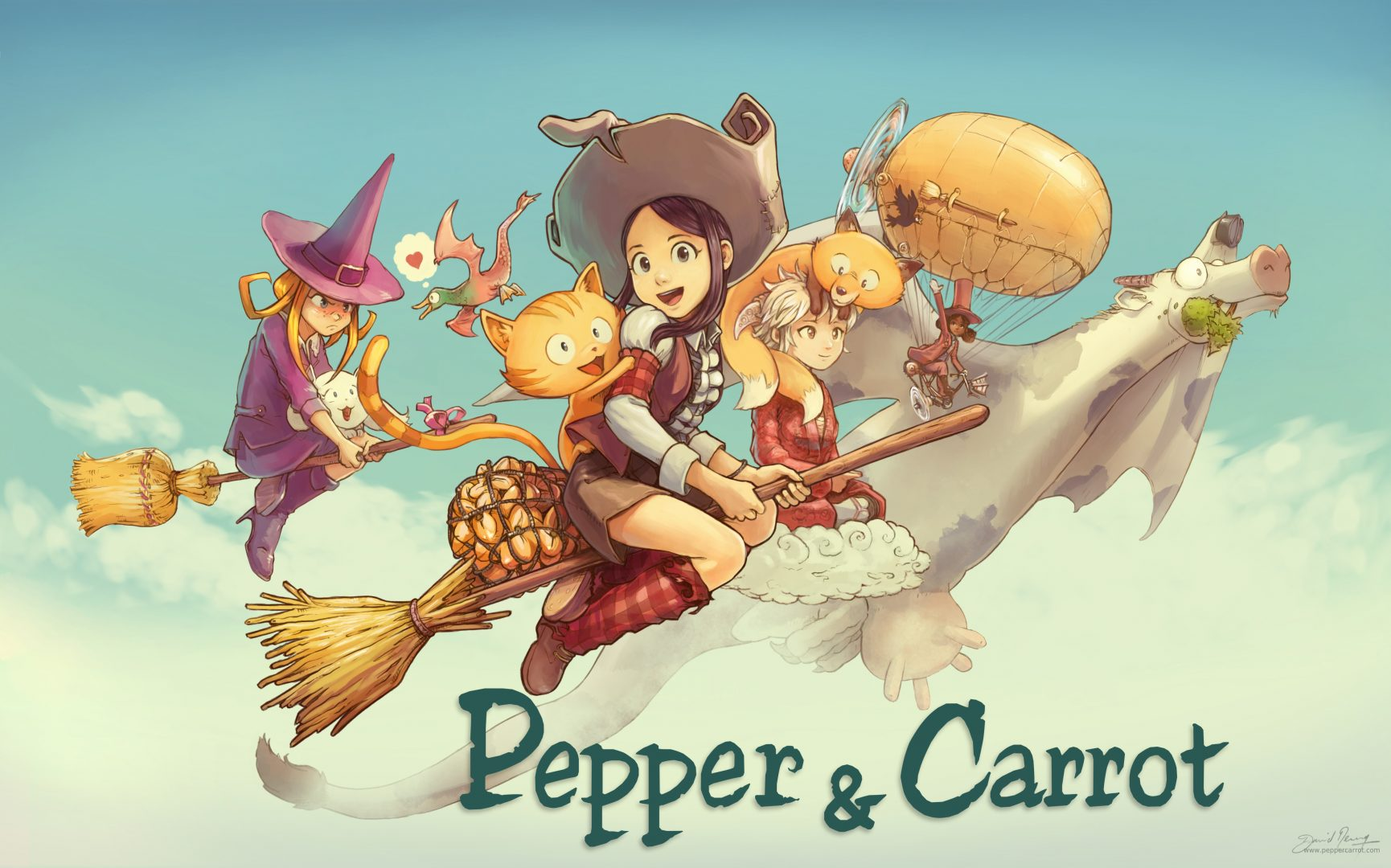 Pepper & Carrot episodios 1-4