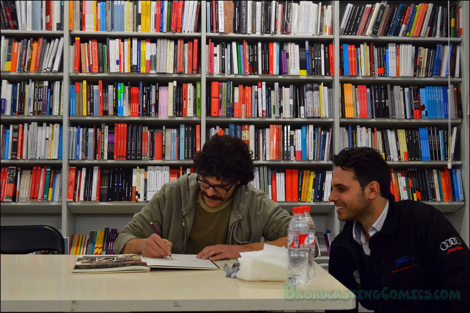 Francis porcel les folies berg re broadcasting comics - Libreria picaso granada ...