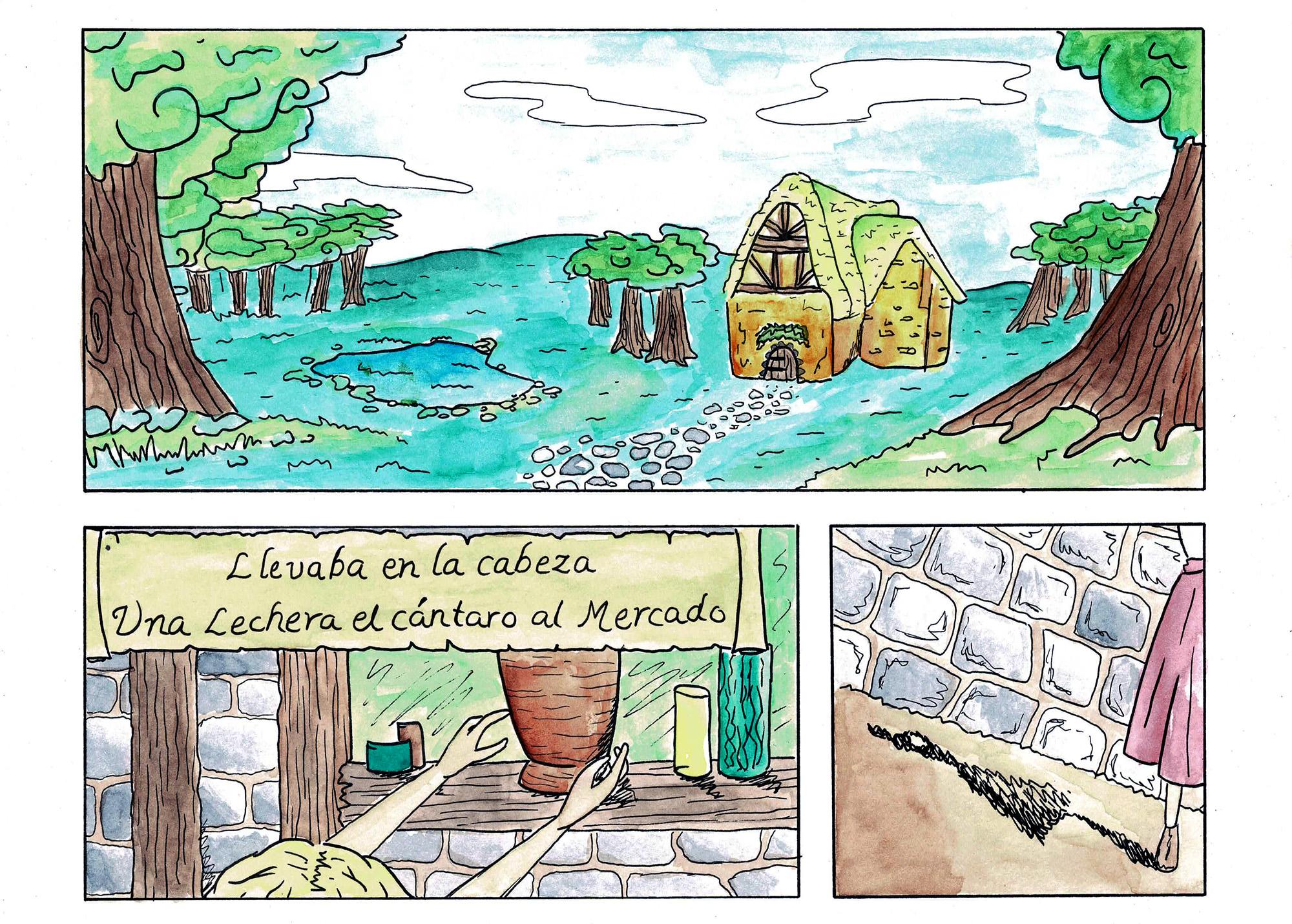 Fábula de la Lechera pg 01