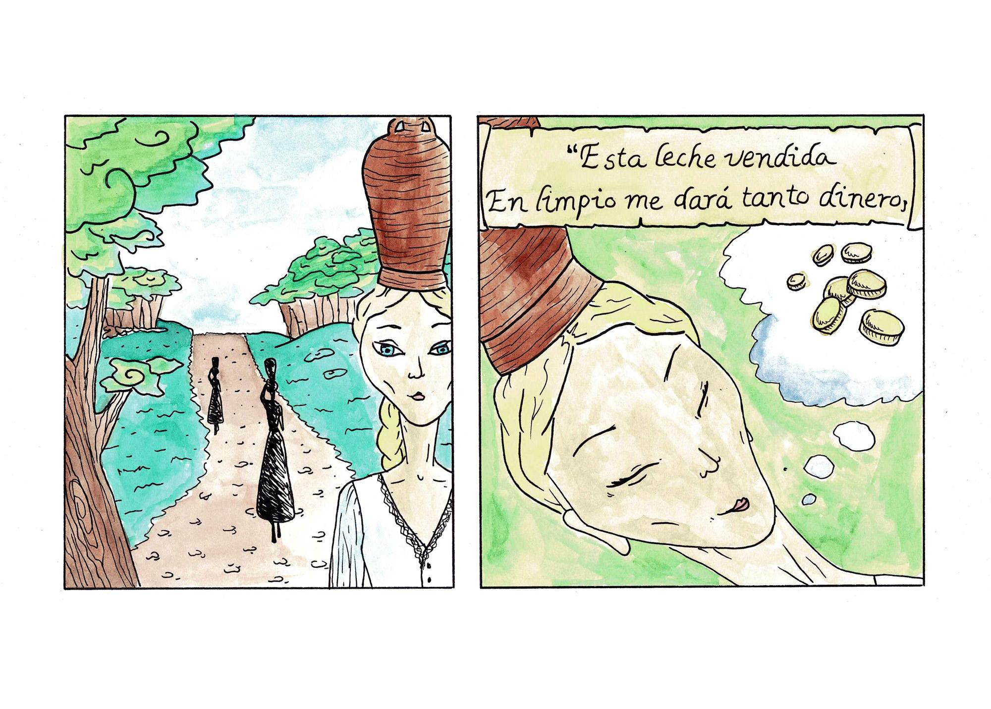 Fábula de la Lechera pg 03