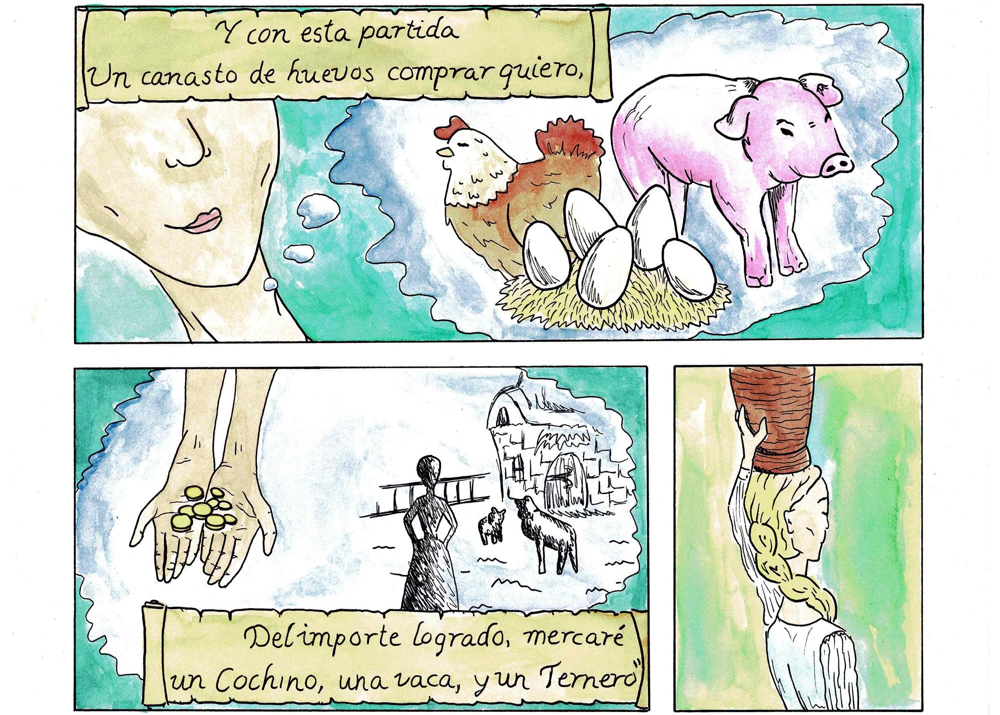 Fábula de la Lechera pg 04