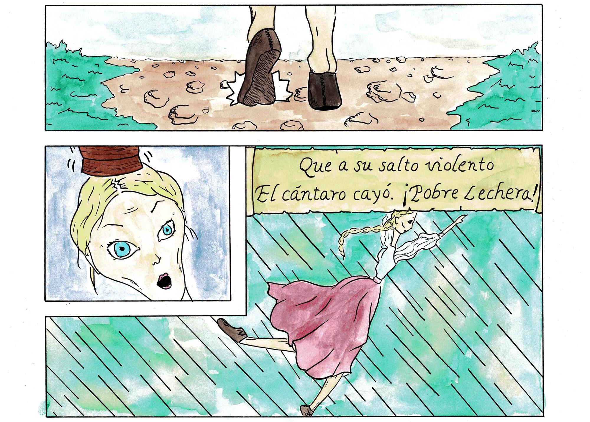 Fábula de la Lechera pg 06