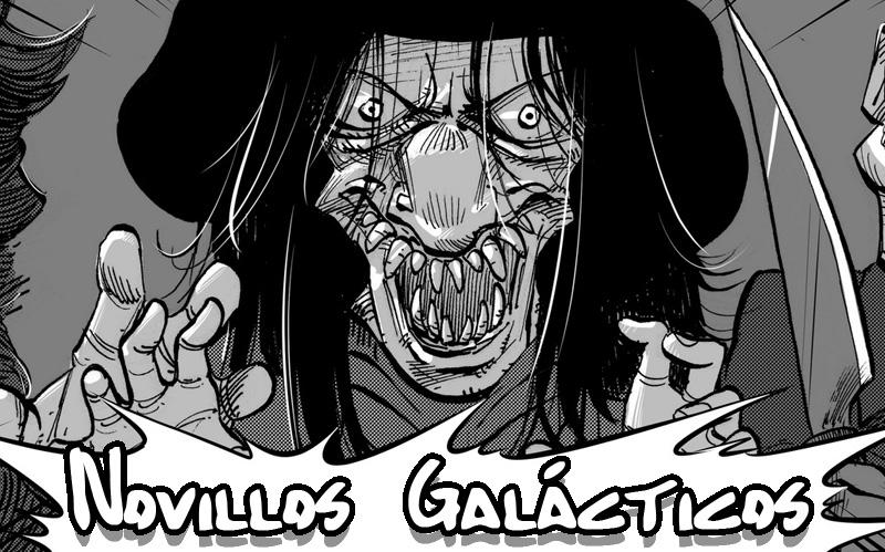 Novillos Glácticos, un cómic especial Halloween a cargo de Miguel Pérez Escribano
